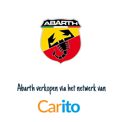 Abarth verkopen via Carito