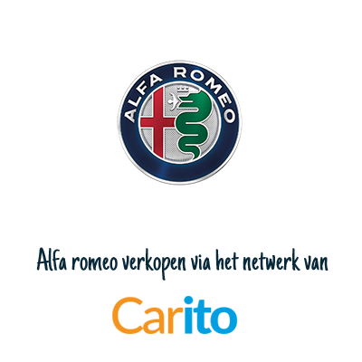 Alfa romeo auto verkopen via Carito