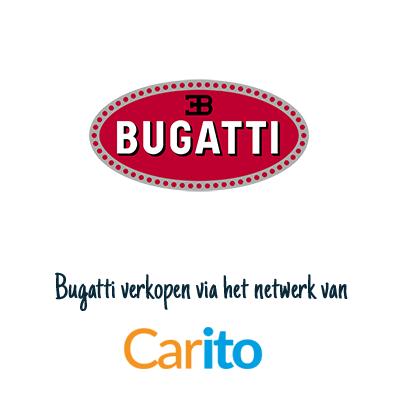 Bugatti auto verkopen via Carito