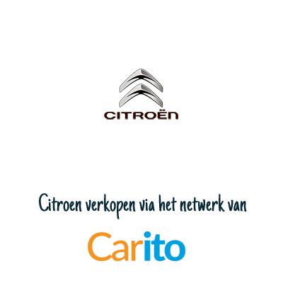 Citroën auto verkopen via Carito
