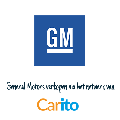 General Motors auto verkopen via Carito