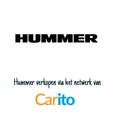 Hummer auto verkopen via Carito