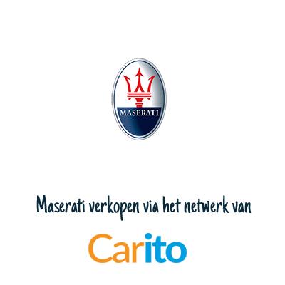 Maserati auto verkopen via Carito