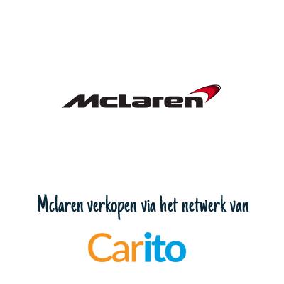 Mclaren auto verkopen via Carito