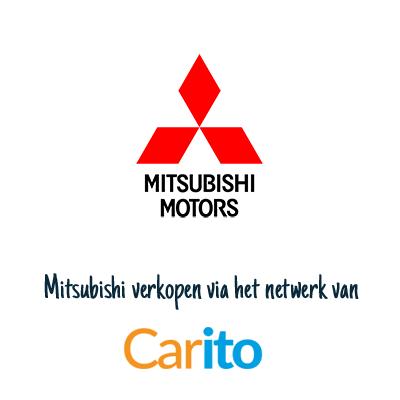 Mitsubishi auto verkopen via Carito