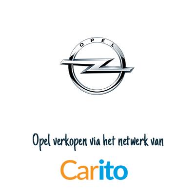 Opel auto verkopen via Carito