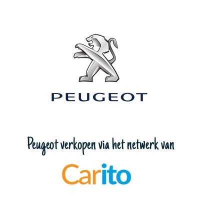 Peugeot auto verkopen via Carito