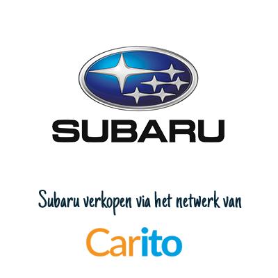 Subaru auto verkopen via Carito