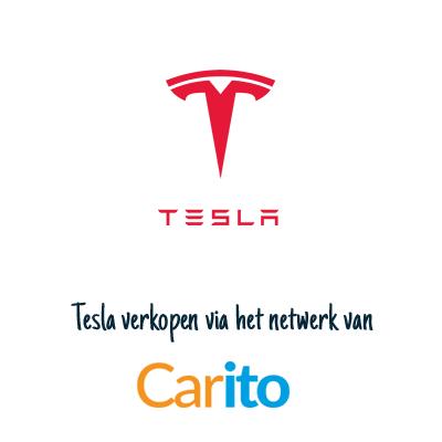 Tesla auto verkopen via Carito