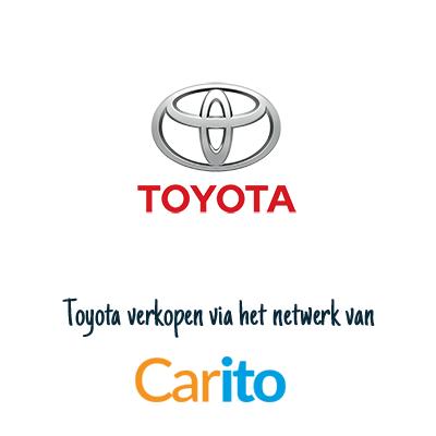 Toyota auto verkopen via Carito