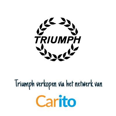 Triumph auto verkopen via Carito