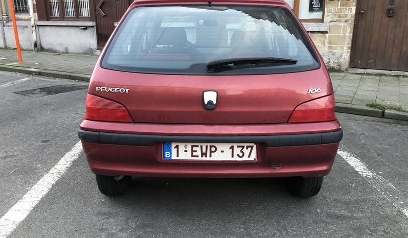 #89016 Peugeot 106 1999 Benzine vol
